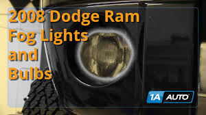 how to install replace fog lights 2002 08 dodge ram 1500 buy quality Dodge Pickup Wiring Diagram at 98 Dodge Ram 2500 Turn Signal Wiring Diagram
