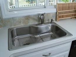 Impressive Installing A New Kitchen Faucet Kitchen Sink And Faucet How To Install A New Kitchen Sink