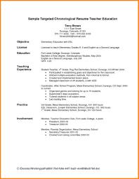 Teacher Resume Objectives 8 Resume Objectives For Teacher Happy Tots