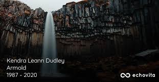 Kendra Leann Dudley Armold Obituary (1987 - 2020)   Hollywood ...