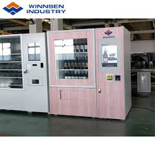 Automatic Products Vending Machine Codes Gorgeous China Winnsen Bottled Wine Beer Vending Machine Qr Code Supported