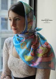 Wear Your Dreams Heartbreak Salon New York 100 Silk Square Scarves