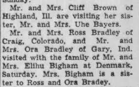 Ross, Ora & Ivan Bradley - Newspapers.com