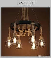 aliexpress 2017 hot vintage rope hemp pendant with regard to edison bulb pendant light fixture plan