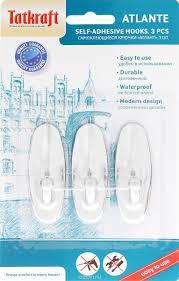Аксессуары для ванной комнаты | <b>Крючок Tatkraft</b> ATLANT ...