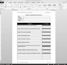 Checklist Design Template Product Design Review Checklist Template Pm1010 4