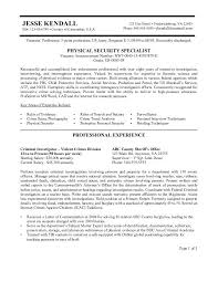 Federal Resume Example Free Federal Resume Sample - Resume Templates