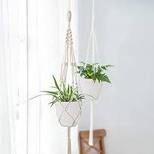 6 Inch Plastic Planters <b>Indoor Flower Plant</b> Pots, Set of 5 <b>Modern</b>