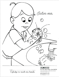 handwashing coloring page germs pages germ sheet medium size of colouring math free hand washing