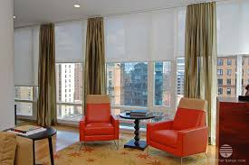 living room sheer window treatments. Simple Living Automated Remote Control Solar Screen Window Shades Sheer Curtains  Draperydual Treatment Modern Living Room  On Living Room Sheer Window Treatments R