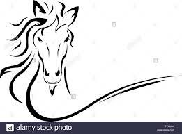 1300x962 horse head vector stock vector art ilration vector image