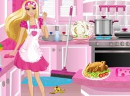 house barbie girl games