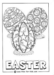 Easter Coloring Pics Happy Coloring Pages Easter Egg Coloring Pages