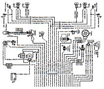 automotive car wiring diagram page 38 opel manta ascona electrical circuit and wiring harness diagram