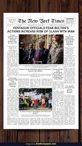 Newspaper Template For Docs New York Times Newspaper Template Google Docs