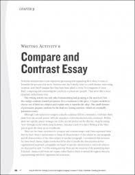 diagnostic essayessays comparison and contrast examples essay title layout ing the