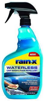rain x waterless car wash