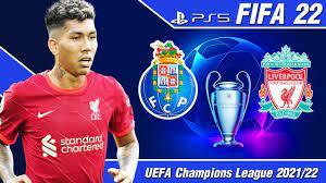 FIFA 22 [PS5] ปอร์โต้ VS ลิเวอร์พูล | ยูฟ่าแชมเปียนส์ลีก รอบแบ่งกลุ่ม นัด 2  !! - YouTube