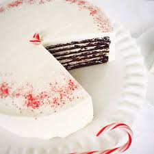 7 Layer Chocolate Peppermint Cake by Caroline s Cakes Goldbely