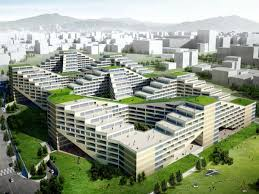 The Great Wall ApartmentFactory Is A Green Destination Designed For Simple Apartment Architecture Design