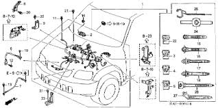 honda online store 1997 crv engine wire harness parts 2004 honda crv wiring diagram at 1997 Honda Crv Wiring Diagram