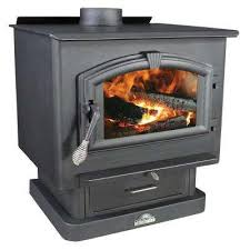 epa certified wood burning stove with blower