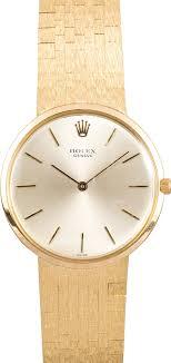 rolex vintage men s watch 18k gold