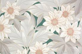 vintage wallpaper. Exellent Vintage 1930s Botanical Vintage Wallpaper Inside E