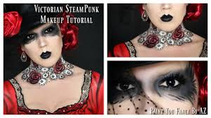 victorian steunk makeup tutorial