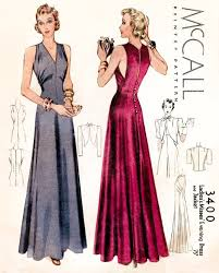 Evening Gown Sewing Patterns