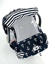 infant car seat covers navy and white anchor print infant car seat cover infant car seat