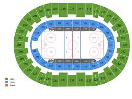 Florida Everblades Seating Chart Florida Everblades Tickets At North Charleston Coliseum On March 29 2020 At 3 05 Pm