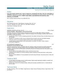 Example Marketing Resume Marketing Resume Example Amazing Marketing Resume Templates Free 19