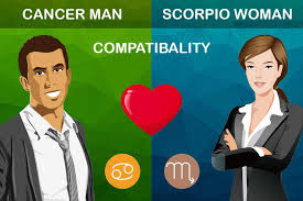 Capricorn Man With Cancer Woman Love Match Chart Cancer Man And Scorpio Woman Compatibility Love Sex And