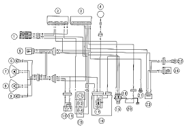 kawasaki ninja zxr lighting system circuit and headlight schematic
