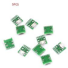 <b>5Pcs Mini Usb</b> To Dip <b>Adapter Converter</b> For 2.54Mm Pcb Board Diy ...