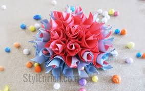 How To Make Origami Paper Flower Diy Paper Crafts Easy Origami Paper Flowers By Ananvita