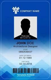 Company Id Badge Template Id Card Template Word Beautiful 16 Id Badge Id Card