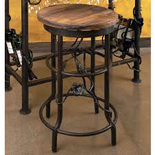 wood and wrought iron furniture. Wrought Iron Bar Stools Wood And Furniture A