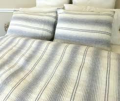 grey white stripe duvet cover set luxuriousblue striped covers uk ikea