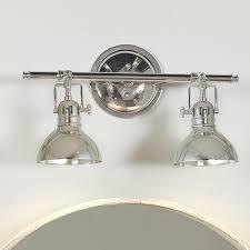 2 light bathroom light. pullman bath light 2 polished_nickel bathroom shades of