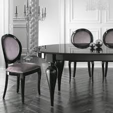 italian lacquer dining room furniture. Italian Designer Oval Extendable Black Lacquered Dining Table Lacquer Room Furniture L