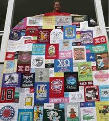 118 best T-Shirt Quilt images on Pinterest | Blankets, Pointe ... & Too Cool T-shirt quilts! t-shirt quilt tutorial-want to make these with  kids sports shirts! Adamdwight.com
