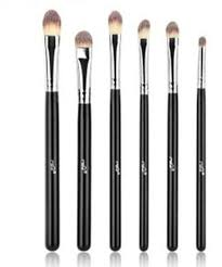 6pcs pro makeup cosmetic brushes eyeshadow eye shadow foundation blending brush