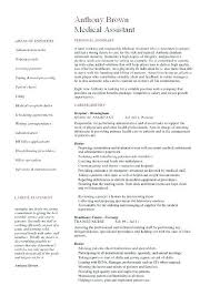 Medical Assistant Resumes Examples Awesome Medical Assistant Resumes Examples ] Medical Assistant Resumes