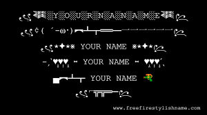 Free Fire Name Symbol [ LATEST 2021 ...