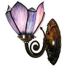 stained glass wall light style handcrafted lamp romantic outdoor lights