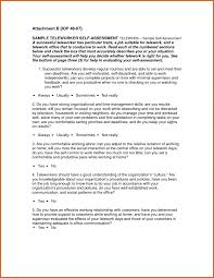 Employee Self Evaluation Examples Apa How To Write A Essay Sample ...