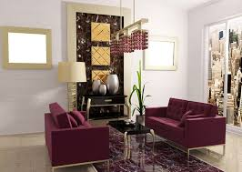 Plum Accessories For Living Room Purple Couch Purple Velvet L Shaped Sectional Couch With Steel