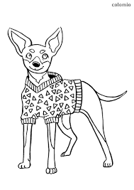 Dog coloring pages for kids. Dogs Coloring Pages Free Printable Dog Coloring Sheets